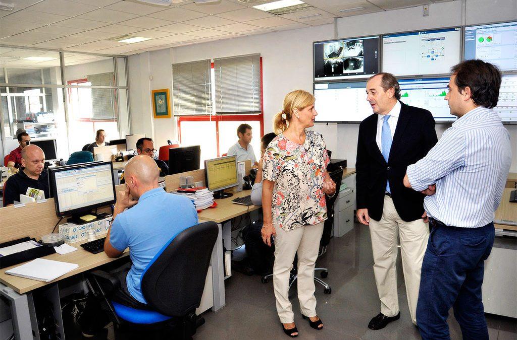 DANTIA recibe la visita en Jerez de la alcaldesa de la ciudad
