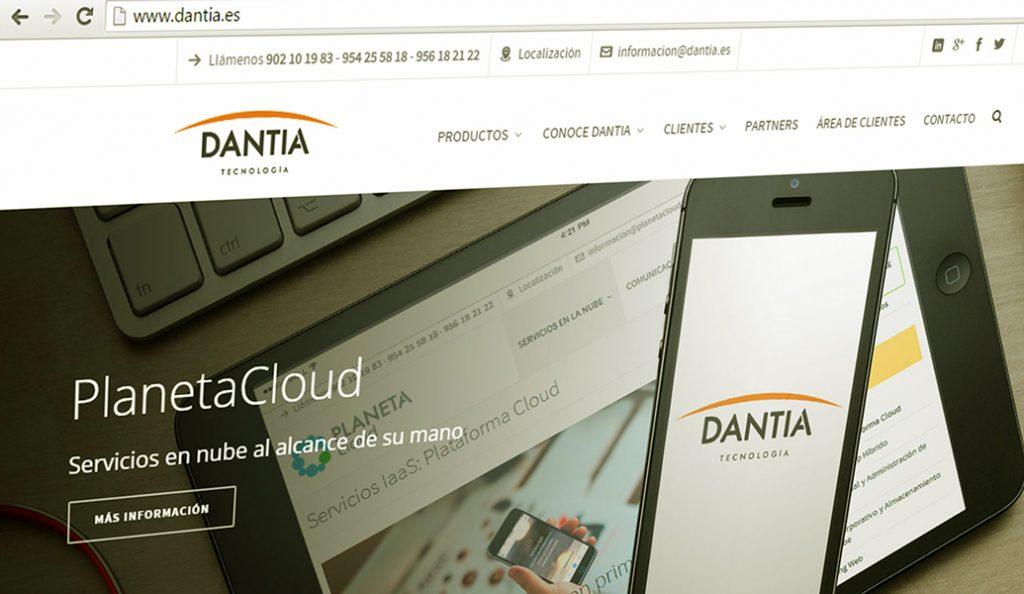 Dantia inaugura nueva web