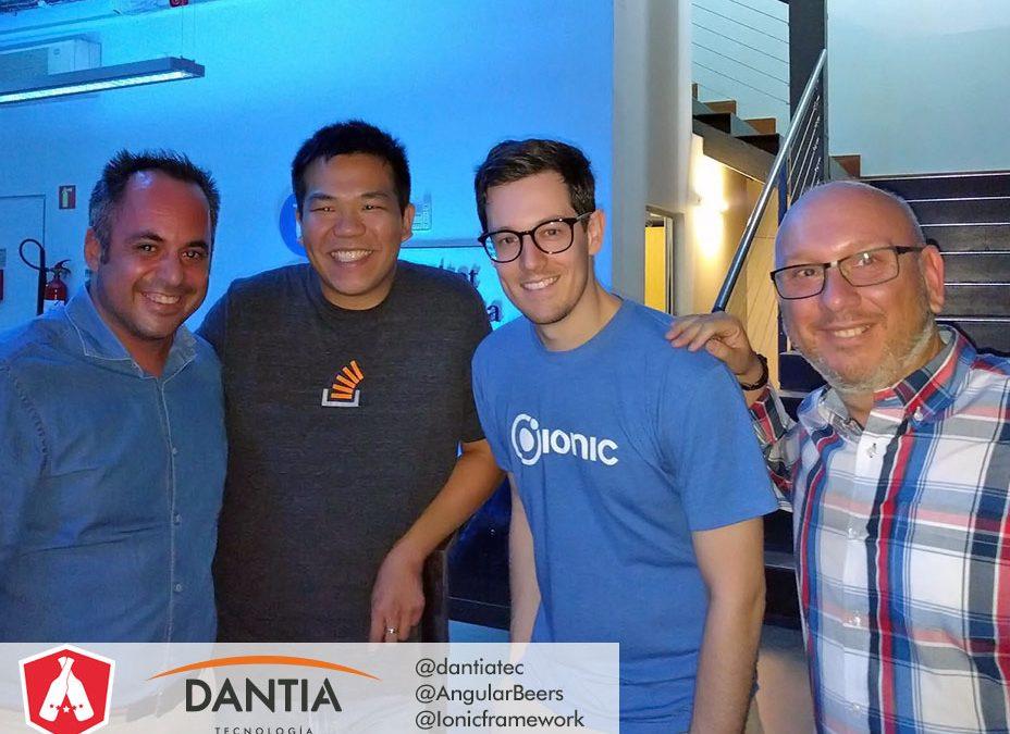 DANTIA en el Meetup de Ionic 2 en Barcelona