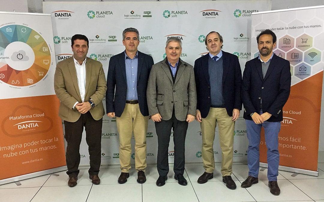 Alfonso Franch visita el DataCenter de DANTIA
