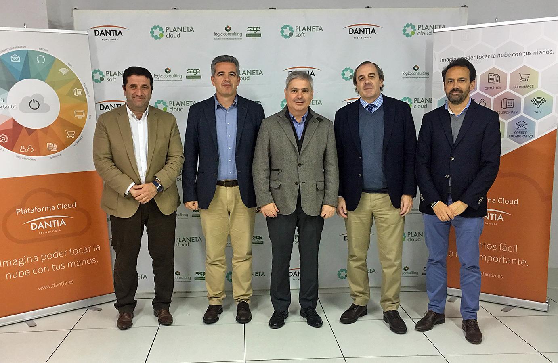 Alfonso Franch visita el Data Center de Dantia