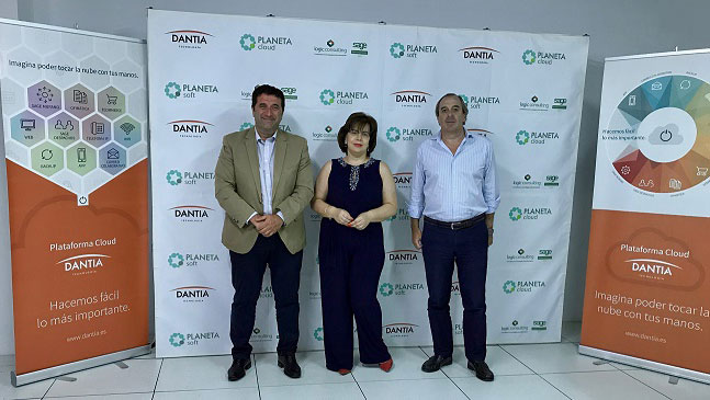 Cristina Álvarez, Channel Manager Market de SageX3, visita Dantia Tecnología