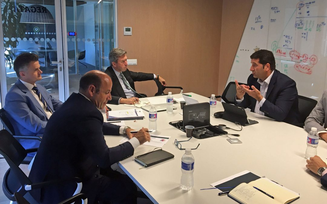 DANTIA participa en un encuentro con el Presidente Mundial de Sage, Blair Crump