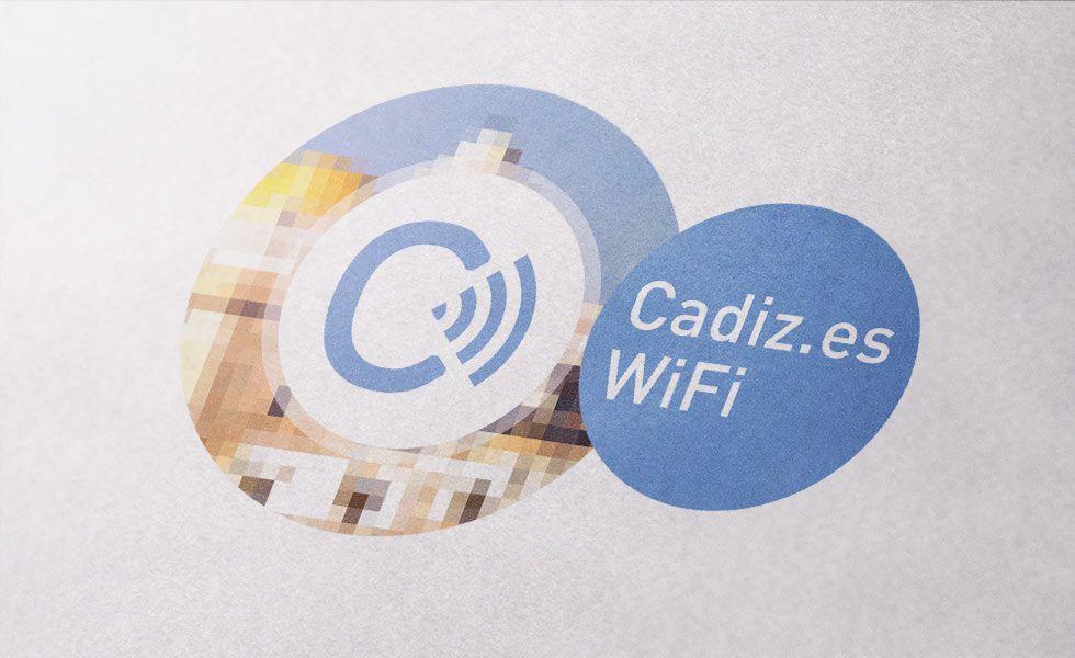 Diseño identidad Cadiz.es WiFi