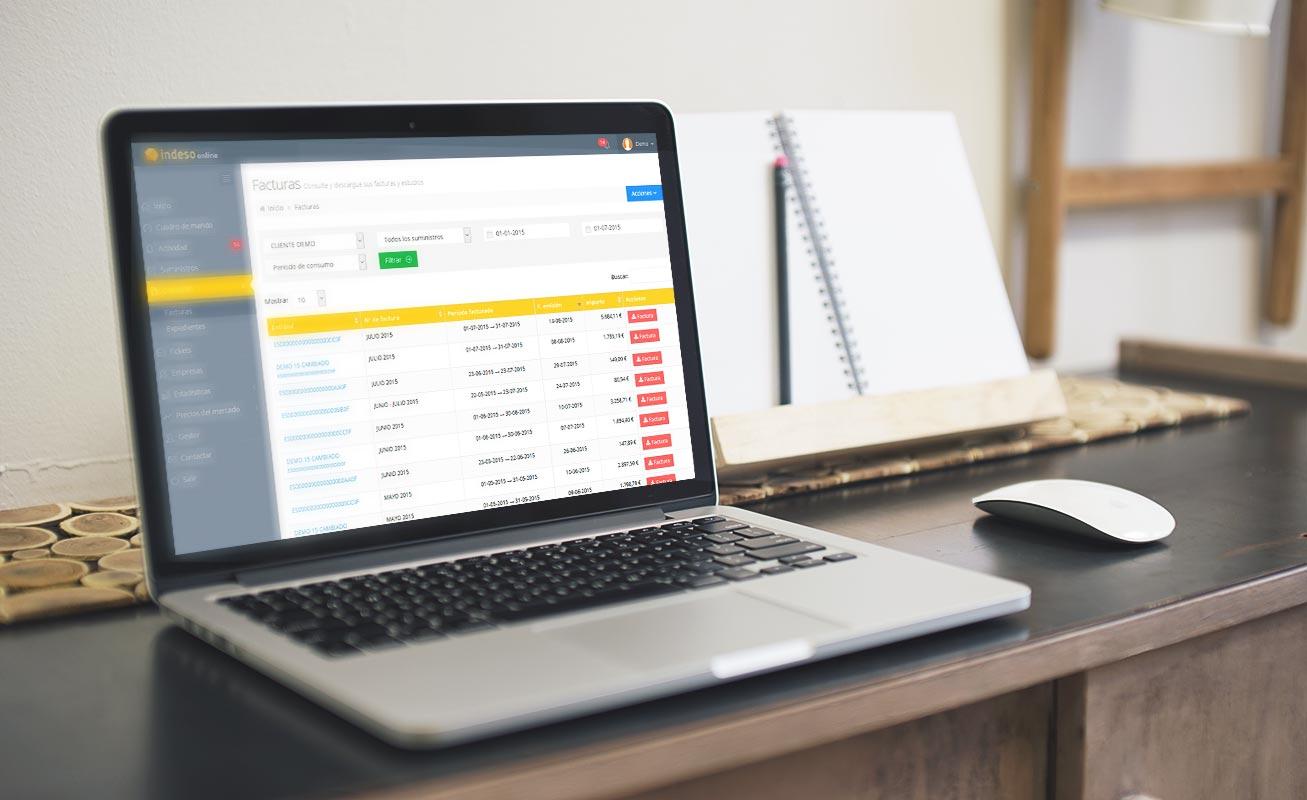 Grupo Indeso confía en DANTIA para e desarrollo de su Web App sincronizada con Sage 200cloud para optimizar el servicio de acceso a la información