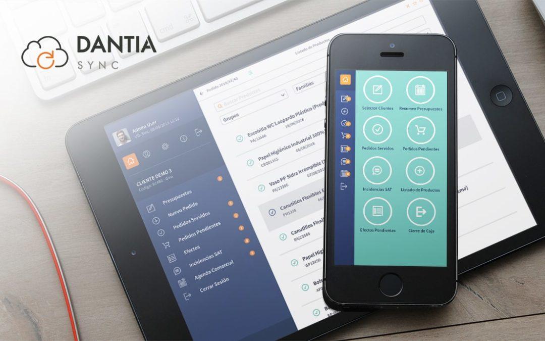DANTIA Sync, la APP ideal para tu empresa