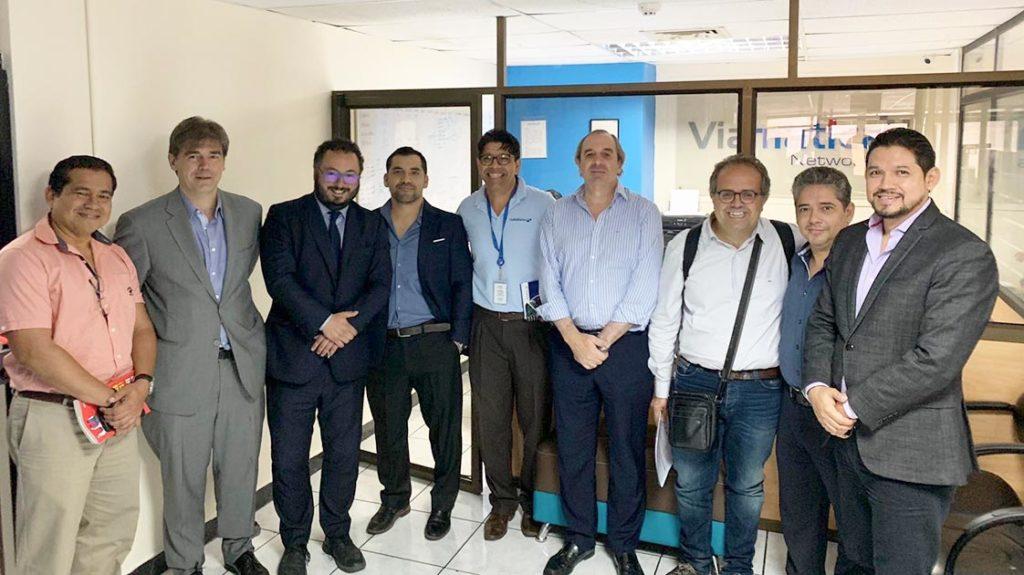 DANTIA se reúne en Guayaquil – Ecuador – con Viamatica para la puesta en marcha del Proyecto Collaborative Health