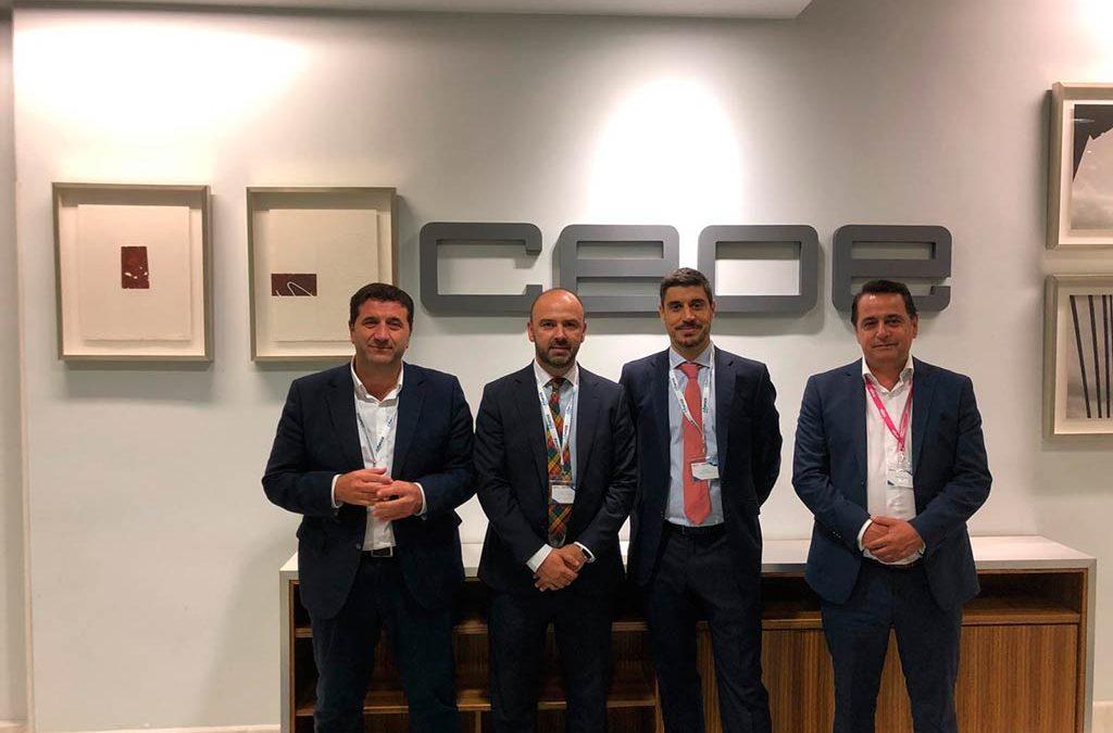 """DANTIA participa como socio tecnológico en el evento """"El relevo generacional en la empresa Familiar"""" de la mano de CEPYME (CEOE), Afianza y Sage"""