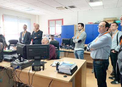 Visita al Departamento de Sistemas e Infraestructura de DANTIA Tecnología