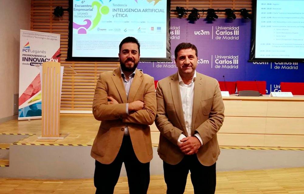 DANTIA asiste al 6ª Encuentro Empresarial sobre Inteligencia Artificial en el Parque Científico y Tecnológico LEGATEC de Madrid