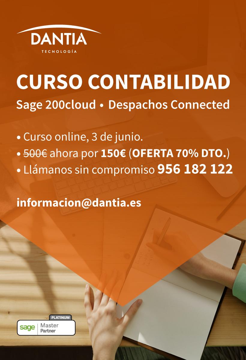 Curso de formación en Contabilidad Sage 200cloud y Sage Despachos Connected
