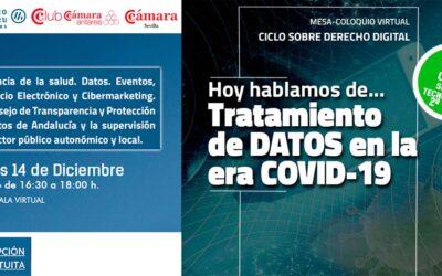 DANTIA participa en la Mesa-Coloquio Virtual Ciclo sobre Derecho Digital «Tratamiento de datos en la era COVID-19»