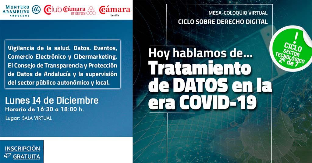 """DANTIA participa en la Mesa-Coloquio Virtual Ciclo sobre Derecho Digital """"Tratamiento de datos en la era COVID-19"""""""