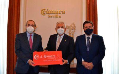 DANTIA Tecnología comienza a formar parte del Club Cámara Antares de Sevilla como empresa adherida