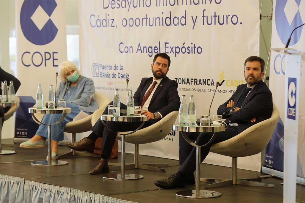 DANTIA participa en el Desayuno informativo 'Cádiz, oportunidad y futuro